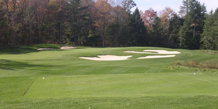 The 4th hole at Blue Ridge Trail Golf Club (Ridge Course)